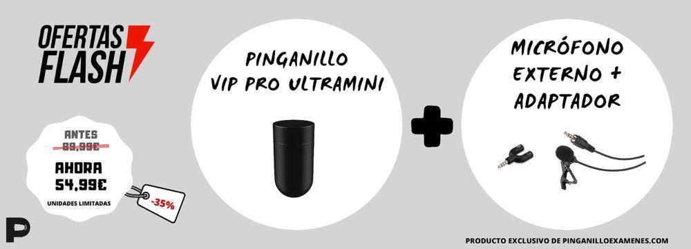 Oferta Pinganillo Vip Pro UltraMini